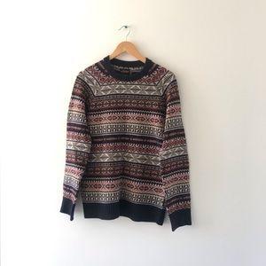 UO Fairisle Wool Sweater